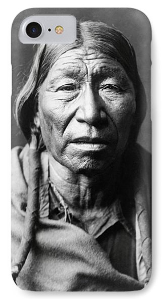 Old Cheyenne Man Circa 1910 IPhone Case by Aged Pixel