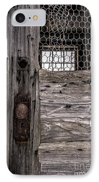 Old Chicken Coop IPhone Case by Edward Fielding