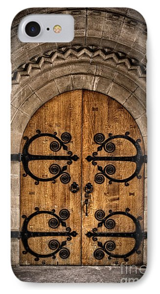 Old Church Door IPhone Case by Edward Fielding