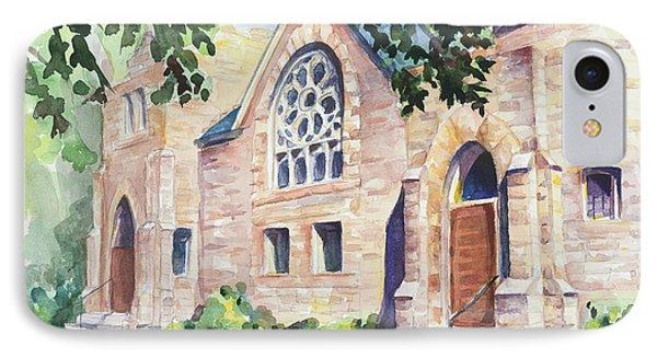 Old Church Phone Case by Svetlana Howe