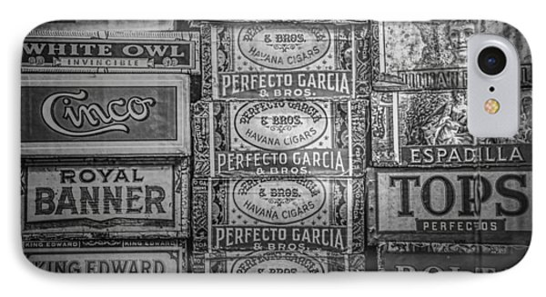 Old Cigar Boxes IPhone Case