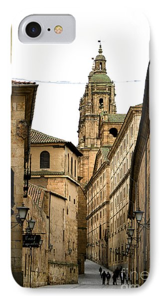 Old City Of Salamanca Spain IPhone Case by Perry Van Munster