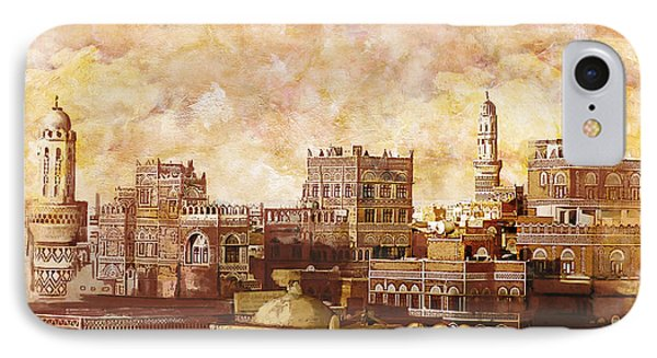 Old City Of Sanaa IPhone Case by Corporate Art Task Force