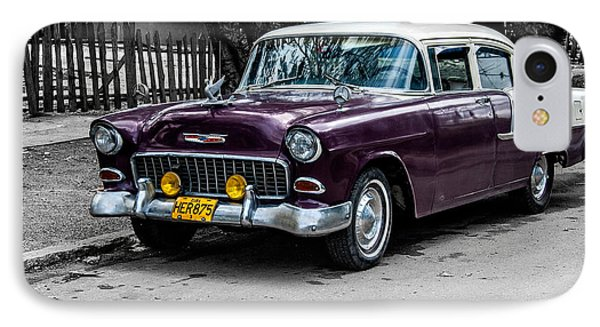 Old Classic Car Iv IPhone Case by Patrick Boening