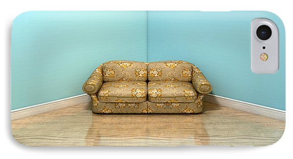 Old Classic Sofa In A Room IPhone Case