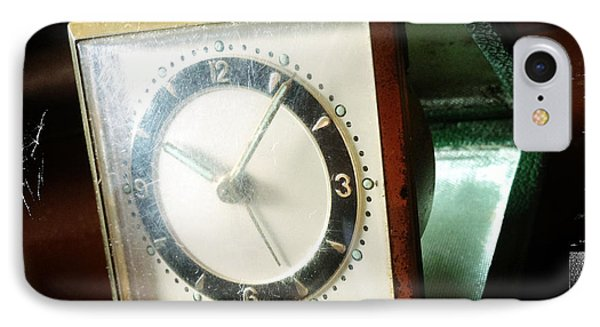 Old Clock IPhone Case by Les Cunliffe