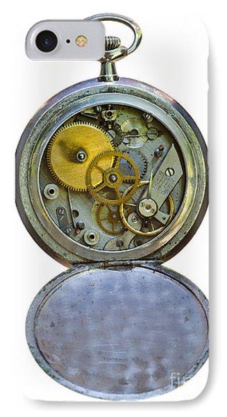 Old Clock Phone Case by Michal Boubin
