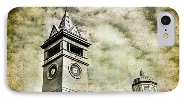 Old Clock Tower Phone Case by Perry Webster