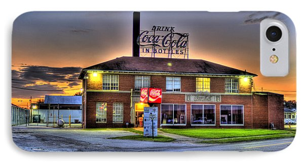 Old Coca Cola Bottling Plant IPhone Case by Jonny D