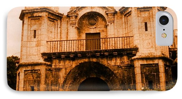 Old Colonial Church In Varadero Cuba Phone Case by John Malone