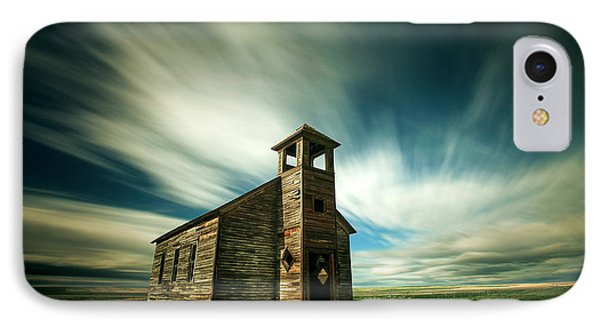 Old Cottonwood Church IPhone Case by Todd Klassy