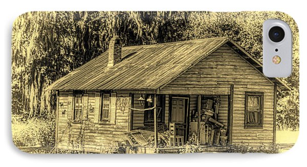 Old Country Cottage IPhone Case by Lewis Mann
