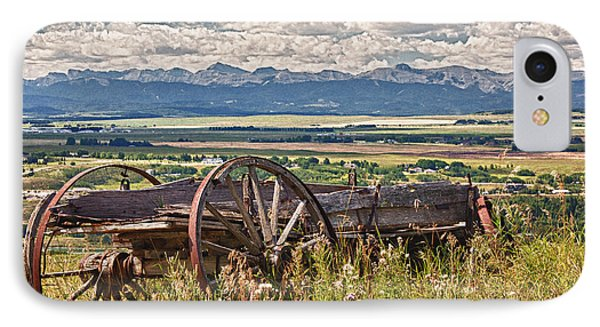 Old Country Wagon Mountains Phone Case by Rob Moses