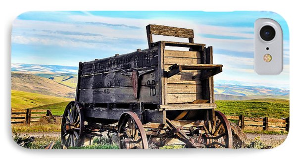 Old Covered Wagon Phone Case by Athena Mckinzie
