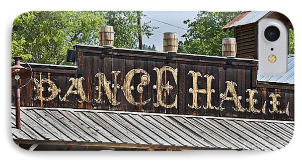 Old Dance Hall IPhone Case by Valerie Garner