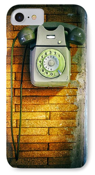 Old Dial Phone IPhone Case by Fabrizio Troiani