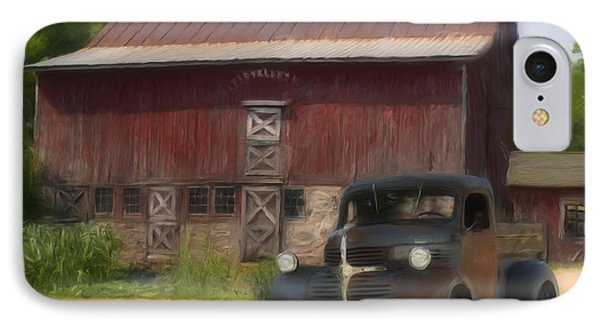 Old Dodge Truck Phone Case by Jack Zulli