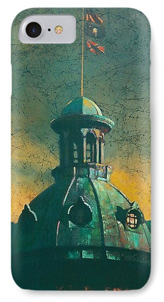 Old Dome IPhone Case by Blue Sky