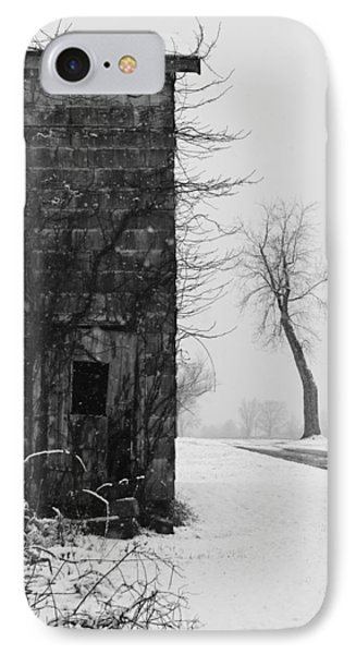 Old Door And Tree Phone Case by William Jobes