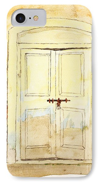 Old Door Phone Case by Keshava Shukla