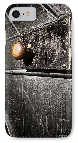 Old Door Lock Phone Case by Olivier Le Queinec