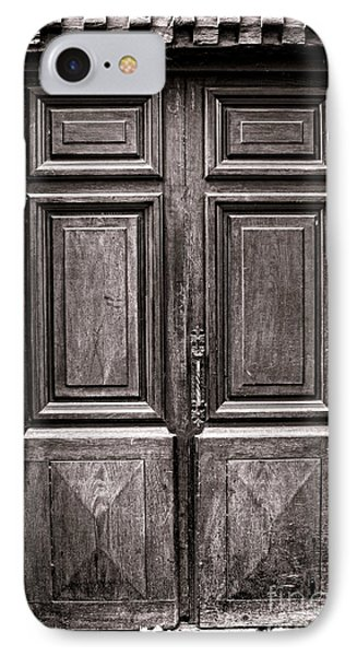 Old Door Phone Case by Olivier Le Queinec