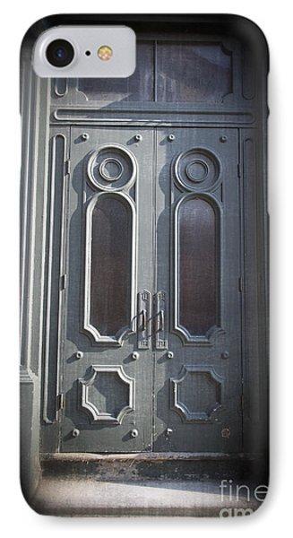 Old Doorway Quebec City Phone Case by Edward Fielding