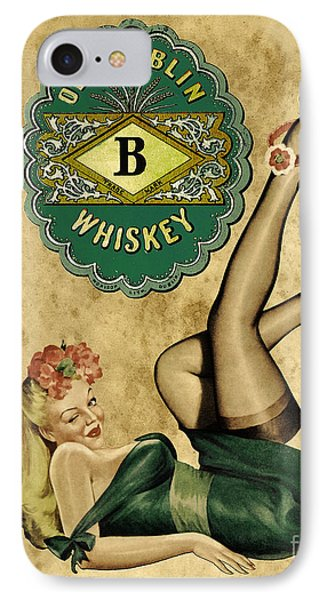 Old Dublin Whiskey Phone Case by Cinema Photography