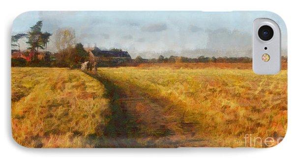 Old English Landscape Phone Case by Pixel Chimp