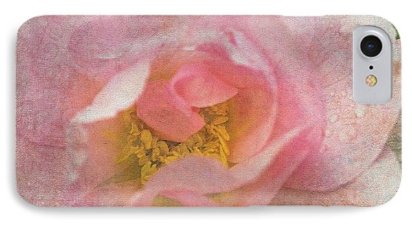 IPhone Case featuring the photograph Old English Rose by Liz  Alderdice