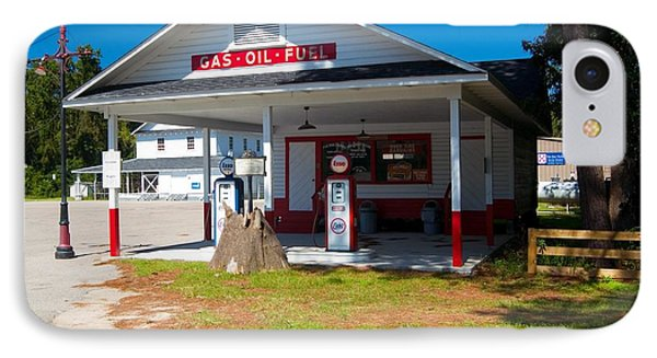 IPhone Case featuring the photograph Old Esso Station by Bob Pardue