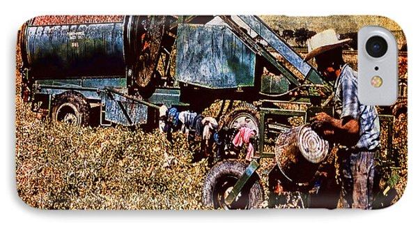 Old Farm Equipment IPhone Case