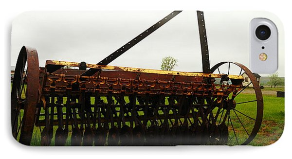 Old Farm Equipment Phone Case by Jeff Swan