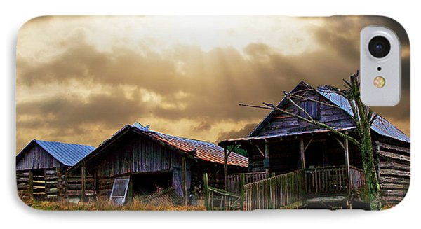 Old Farm House IPhone Case by B Wayne Mullins