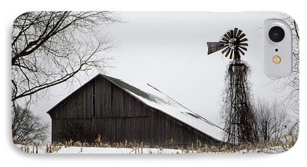 Old Farm IPhone Case by Linda Kerkau