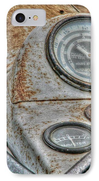 Old Farm Tractor Phone Case by Heather Allen