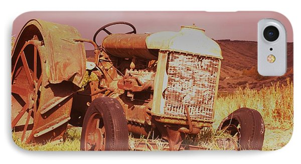 Old Farm Tractor  Phone Case by Jeff Swan