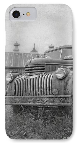 Old Farm Truck Out By The Barn IPhone Case