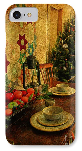 IPhone Case featuring the photograph Old Fashion Christmas At Atalaya by Kathy Baccari