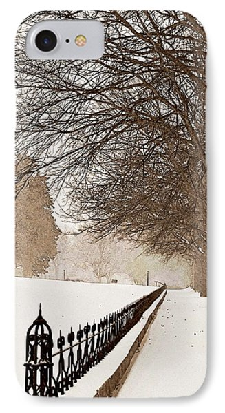 Old Fashioned Winter Phone Case by Chris Berry
