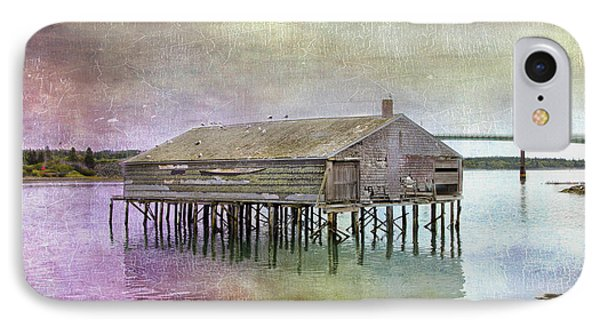 Old Fishing Pier  IPhone Case by Betty  Pauwels