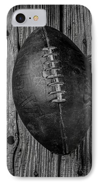 Old Football IPhone 7 Case by Garry Gay