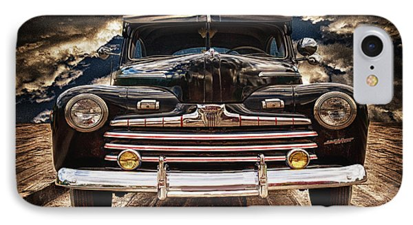 IPhone Case featuring the photograph Old Ford 2 ... by Chuck Caramella