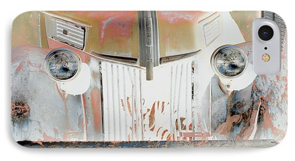 Old Ford Truck - Photopower IPhone Case by Pamela Critchlow