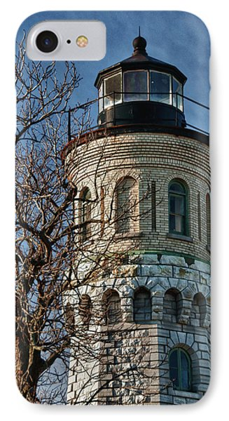 IPhone Case featuring the photograph Old Fort Niagara Lighthouse 4484 by Guy Whiteley