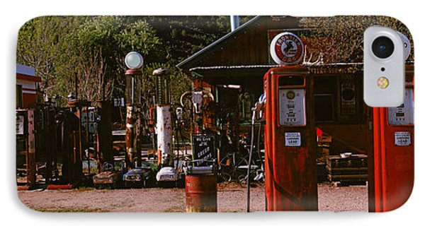Old Frontier Gas Station, Embudo, New IPhone Case by Panoramic Images