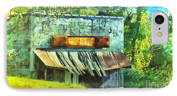 Old General Store IPhone Case by Elizabeth Coats