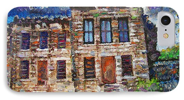 Old Georgetown Jail Phone Case by GretchenArt FineArt