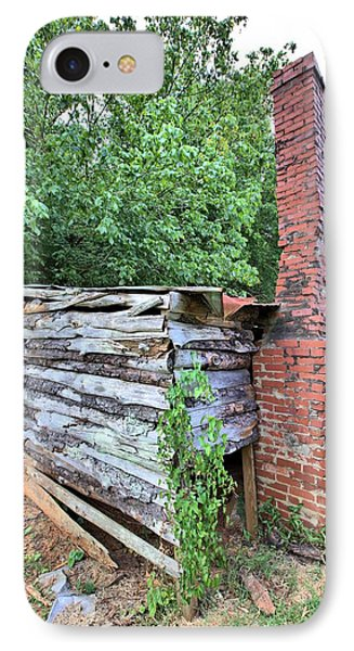 IPhone Case featuring the photograph Old Georgia Smokehouse by Gordon Elwell