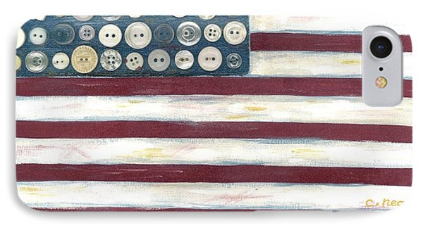 Old Glory Phone Case by Carol Neal